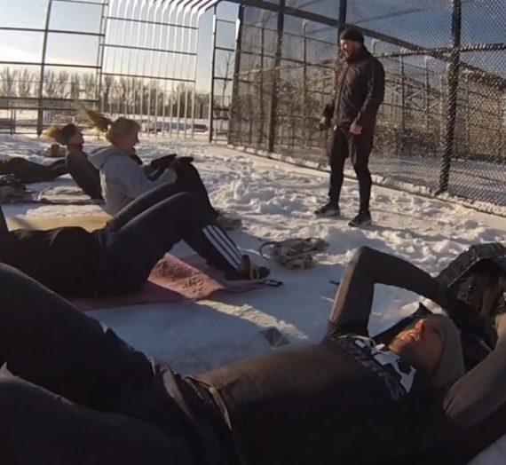 Winter Freeletics Session im Video