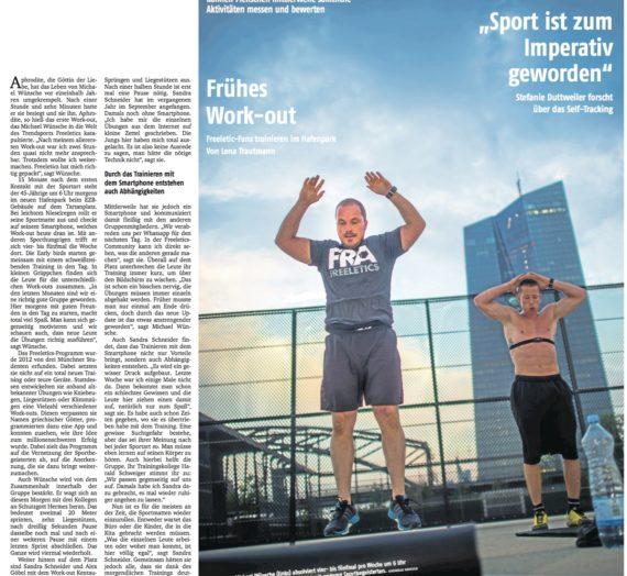 """Frankfurter Rundschau berichtet über unsere """"early birds"""""""
