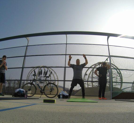Samstag Workout mit Dione, 200 Squats und 200 Situps