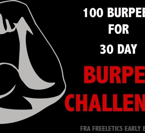 100 Burpees und anschließend knapp 9 km Run