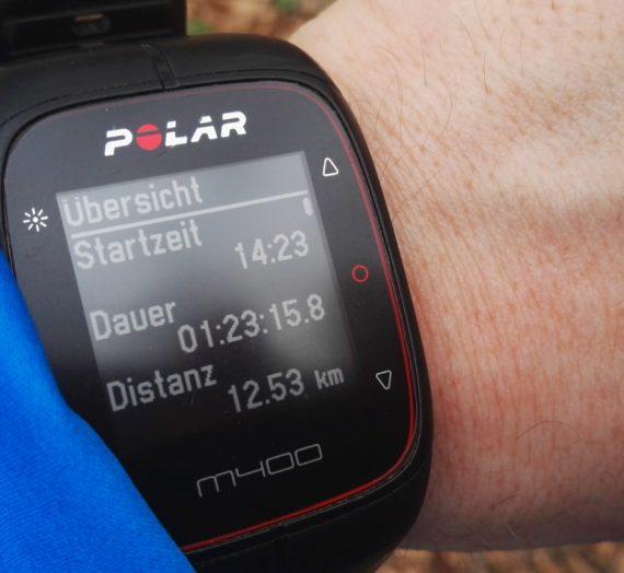 12.5 Kilometer oder Aufgeben ist keine Option.
