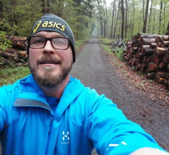 Die ersten 15 Kilometer für dieses Jahr sind gefallen.