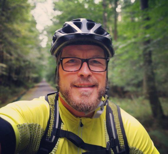 20 Kilometer mit dem Mountainbike